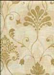 Home Wallpaper Andalusia Damask 2614-21036 By Beacon House For Brewster Fine Decor